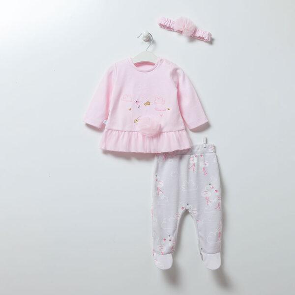 3-teiliges-Set-Flamingo-Girl-6895-rosa