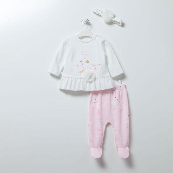 3-teiliges-Set-Flamingo-Girl-6895-weiss