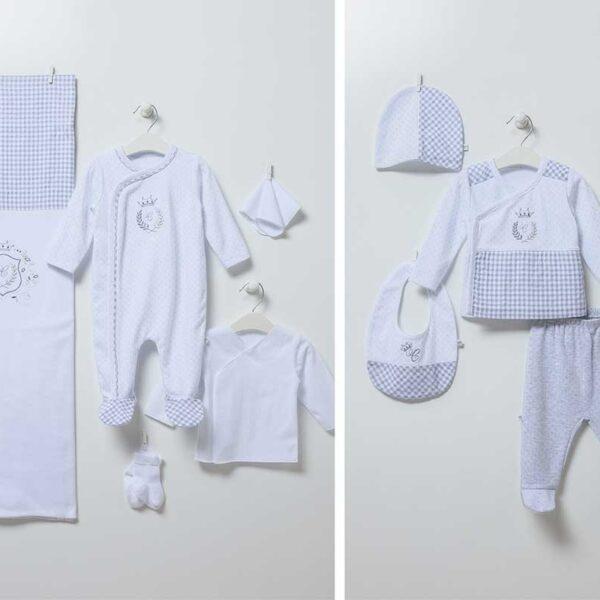 Mini Man – 10-teiliges Neugeborenen Set