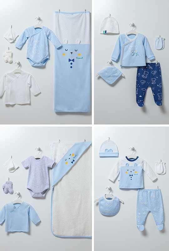Baby Bear 20-teiliges-Set 6863-Blau