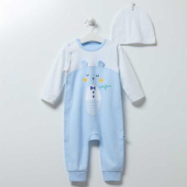 Baby Bear Strampler mit Mütze Gr 62/68 Artikel TE6864