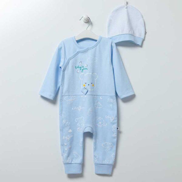 Baby Bear Strampler mit Mütze Gr 62/68 Artikel TE6865