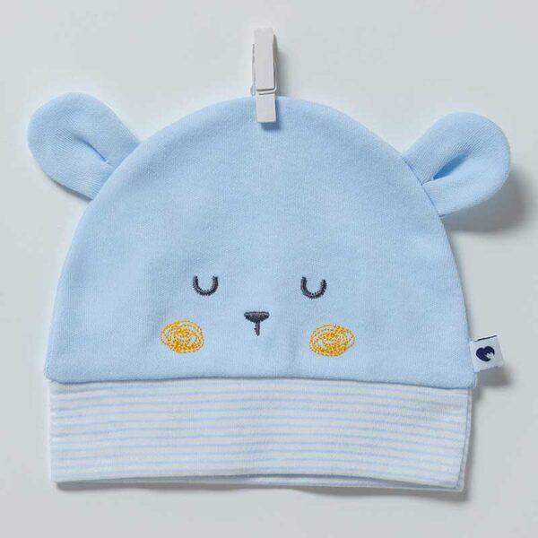 Baby Bear Mütze Artikel 6876-Blau