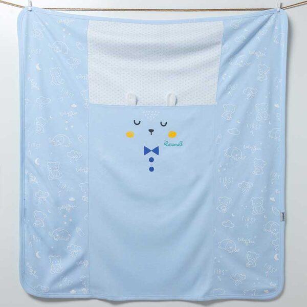 Baby Bear Decke Artikel 6880-Blau