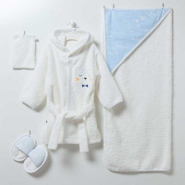 Baby Bear 5-teiliges Bade Set Artikel 6884-Blau