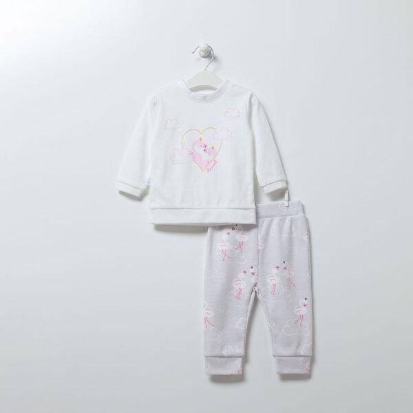 Schlafanzug-Flamingo-Girl-6896-weiss