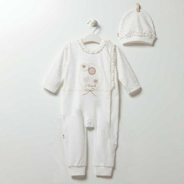 Strampler ohne Füße Soft Girl Lullaby Baby TK5091