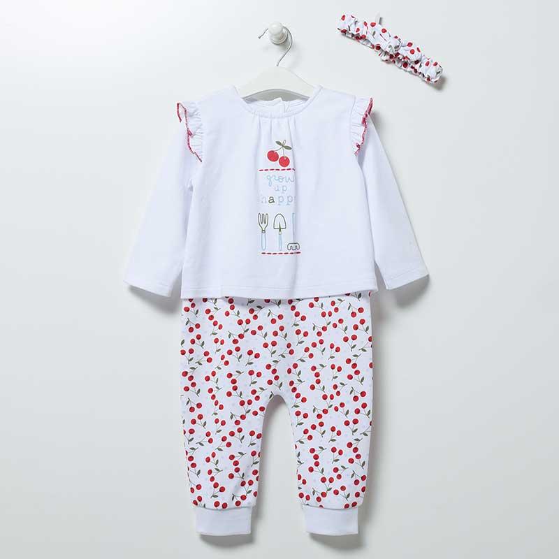 Strampler mit Stirnband Artikel tk6576 Lullaby Baby