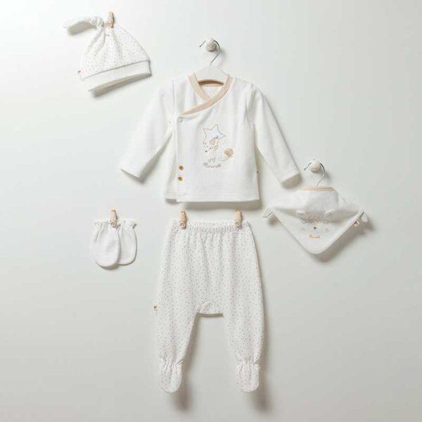 Soft Boy 5-teiliges Neugeborenen Set Artikel ze5077