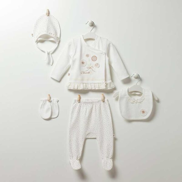 Soft Girl 5-teiliges Neugeborenen Set Artikel zk5100