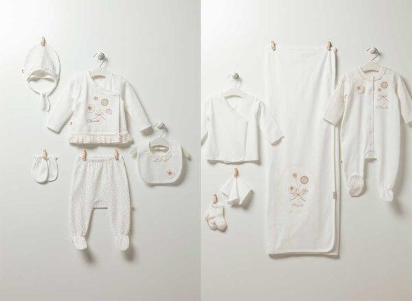 Soft Girl 10-teiliges Neugeborenen Artikel Set zk5101