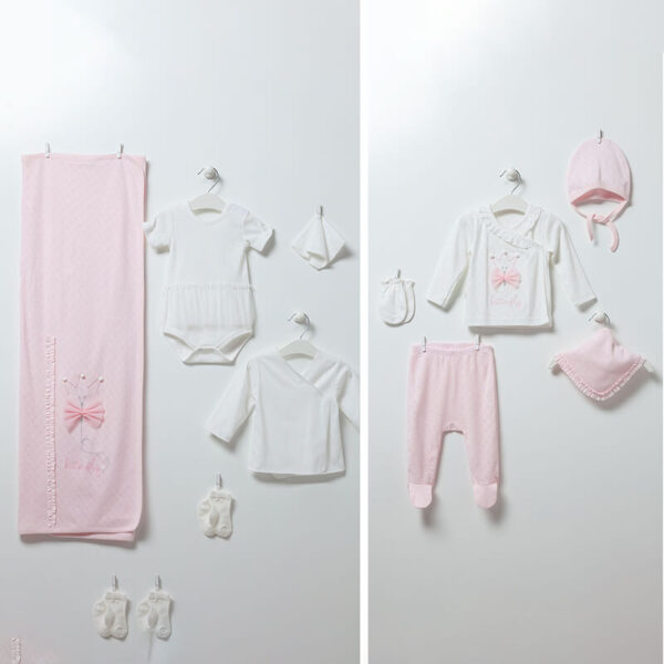 Butterfly – Girl 10-teiliges Neugeborenen Set