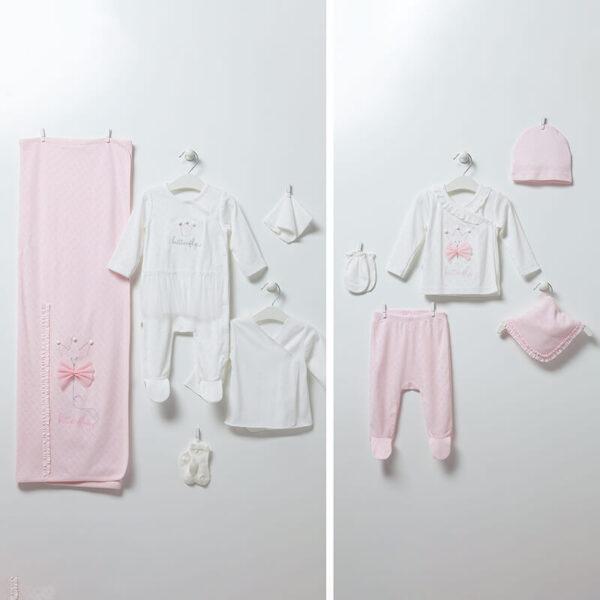 Butterfly-Girl-10-teiliges-Set-rosa-Artikel-Nr.-ZK6944