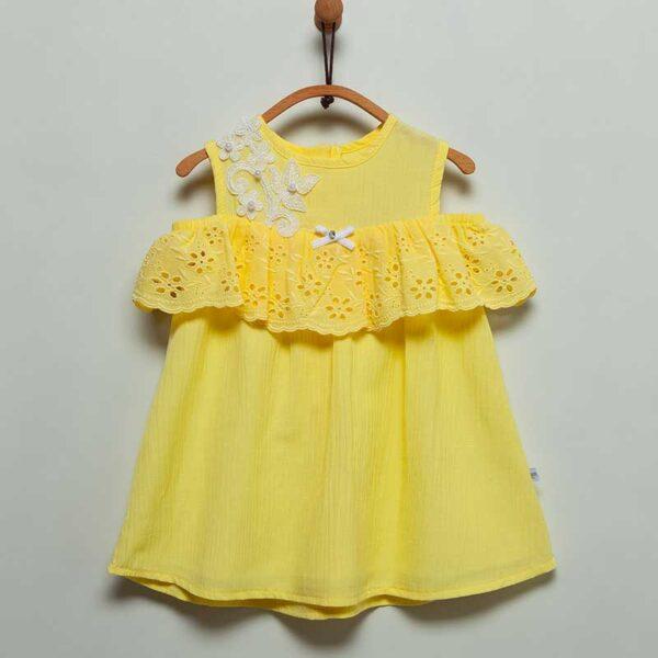 Stil-Girl-Kleid-gelb-Artikel-JIK6104