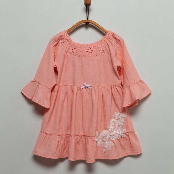 Stil-Girl-Kleid-lachs-Artikel-ELB6103